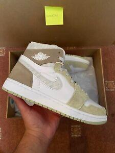 Nike Air Jordan 1 High Zoom CMFT Olive Aura (W) - UK6.5 - Free Shipping ✅🚚📦