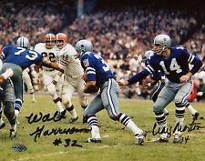 Walt Garrison & Craig Morton Dual SIgned Dallas Cowboys Autographed 8x10