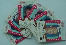 1986 TRUE VALUE HARDWARE STORES BASEBALL 7 PANELS/21 CARDS (ROSE, RIPKEN, BRETT+