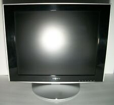 Sony TFT LCD SDM-HS93 Monitor 19'' W/ VGA And Power Cable