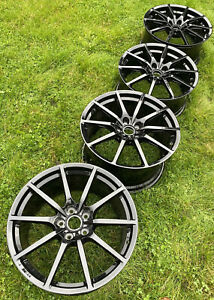 "Aston Martin V12 S Vantage 19"" Gloss Black Lightweight Wheels OE"