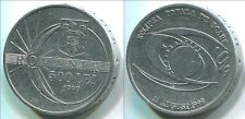 Romania C029 1999, 500 Lei, Total Solar Eclipse coin, additional items ship free