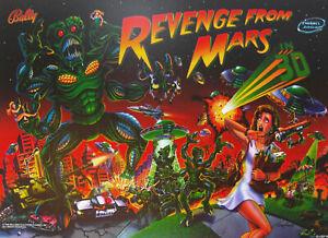 Bally - Revenge from Mars - Pinball 2000 Translight - NOS - Great Condition