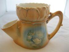 Austria Shaving Scuttle Mug Cup Swans Porcelain Victorian
