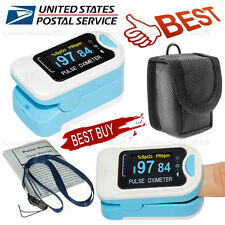 Digital Finger Pulse Oximeter Spo2 Pulse Heart Rate Monitor Blood Oxygen Sensor