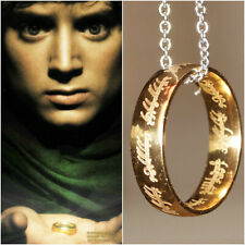Lord of the Rings 'The One Ring' Necklace Costume Outfit Cosplay Gandalf Hobbit