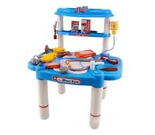 Deluxe Little Doctors Medical Table Playset Kids 25 Pcs New