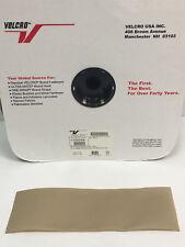 4 INCH VELCRO® Brand HOOK Fastener Sew On Mil-Spec Military Tape TAN (SANDSTONE)