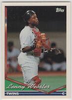 1994 Topps Baseball Minnesota Twins Team Set
