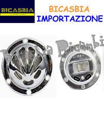 7739 - CLACSON CLAXON CROMATO 6 VOLT VENTAGLIO VESPA 125 VNB3T VNB4T VNB5T VNB6T