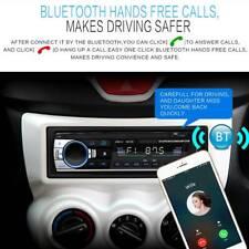 Car Stereo Audio In-Dash FM Aux Input Receiver SD USB MP3 WMA Radio Player