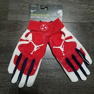 Nike Jordan Mookie Betts 50 Huarache Elite Batting Gloves PGB651 674 Mens LARGE