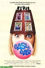 MOVIE POSTER~East is East 1999 27x40 Original Film Sheet Omi Puri Linda Bassett~