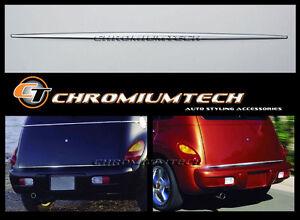 2001-2005 Chrysler PT Cruiser CHROME Boot Lid TrunkTrim For Pre-Facelift Models