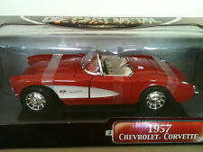 YAT MING 1957 CHEVY CORVETTE DELUXE EDITION DIE CAST 1:18 HAND MADE