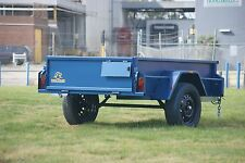 "8x5 Box Trailer with 16"" High Sides & Jockey Wheel"