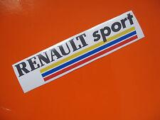 RENAULT SPORT sticker/decal x2