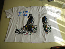 Graffiti street shirt 2 pcs new rare white size XL