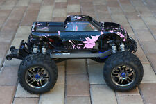 Custom Body Muddy Pink for Traxxas T / E Maxx 1/10 Shell w/ Decal Sheet E-Maxx