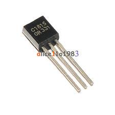 50PCS 2SC1815 C1815 TO-92 NPN 50V 0.15A Transistor