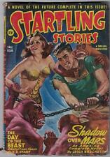STARTLING STORIES Fall 1944 Leigh Brackett Good Girl Art! GD+