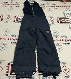 SPYDER Small to Tall Kids Insulated Winter Bib Snow Suit Overalls Size 7 D0