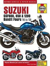 Haynes Suzuki GSF600/650/1200 Bandit Manual M3367