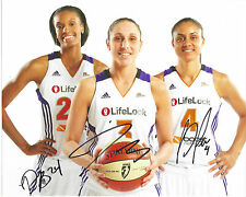 DIANA TAURASI Bonner Dupree Signed 8x10 Photo WNBA Phoenix MERCURY Basketball