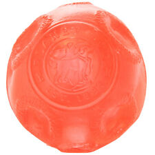 Planet Dog Orbee Tuff Cosmos Lunee Translucent Red Ball Toy for Dogs