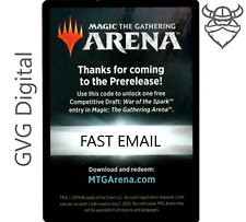 MTGA War of the Spark Prerelease Magic Arena Draft Code 1/acct - Fast Email 5min