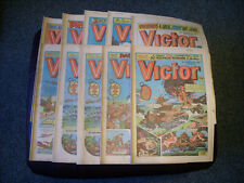 VICTOR COMICS x 10 - 1985/86