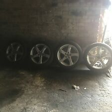 "AUDI A3 8V 17"" 5 SPOKE ALLOY WHEELS WITH 225/45Z R17 TYRES"