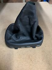 AUDI A3 8P 2004-2007 MANUAL GEAR STICK LEVER BLACK LEATHER GAITER 8P0863279