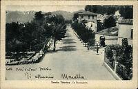 Torrita Tiberina Italien Italia Latium 1942 Passeggiata Landhaus Häuser Straße