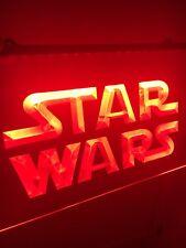 Star Wars Led Light Sign for Game Room,Office,Bar,Man Cave. Us Seller!