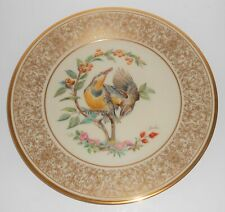Lenox China Boehm 1973 Meadowlark Plate