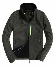 New Mens Superdry  Sd-Windtrekker Jacket Charcoal Herringbone