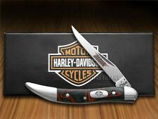 CASE XX Harley-Davidson Black Lava Kirinite Toothpick Pocket Knife Stainless