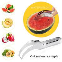 Watermelon Cutter Slicer Knife Server Corer Scoop Stainless Steel Tool Carve Mgi