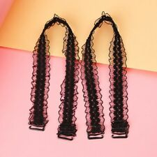 Women's Bra Strap Crochet Floral Adjustable Wide Lace Shoulder Straps for Bridal