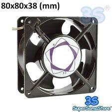 3S Ventilatore ventola di raffreddamento assiale 80x80x38 mm 230V per FRIGO PC..