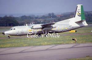Channel Express Fokker F27-500 G-CEXE ex SU-GAF, Colour Slide, Aviation Aircraft