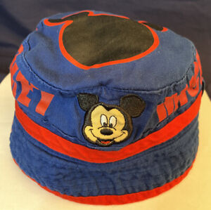 Disney Mickey Mouse - Toddler Boy Bucket Hat - Swim Beach Pool Sun