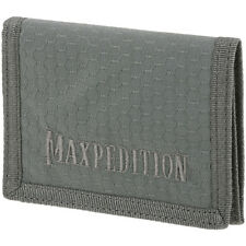 Maxpedition Agr Delgado Tri Fold Cartera Militar Hex Nylon Ripstop Bolsillo Gris