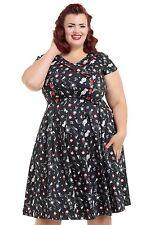 Voodoo Vixen Cotton 50's, Rockabilly Dresses for Women