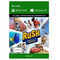RUSH: A DISNEY PIXAR ADVENTURE * XBOX ONE DOWNLOAD * SAME DAY TEXT MSG DELIVERY