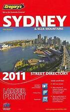 Gregory's Sydney & blue mountains Street Directory new