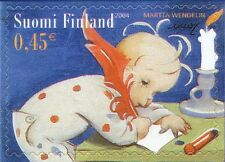 Finland 2004 MNH Stamp - Christmas - A Child Writes Wish List - Candle
