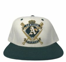 American Needle Oakland Athletics Cooperstown Collection Snapback Hat Cap *EUC*