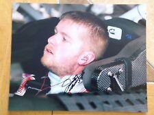 Justin Allgaier Signed 8x10 Photo COA NASCAR Autograph